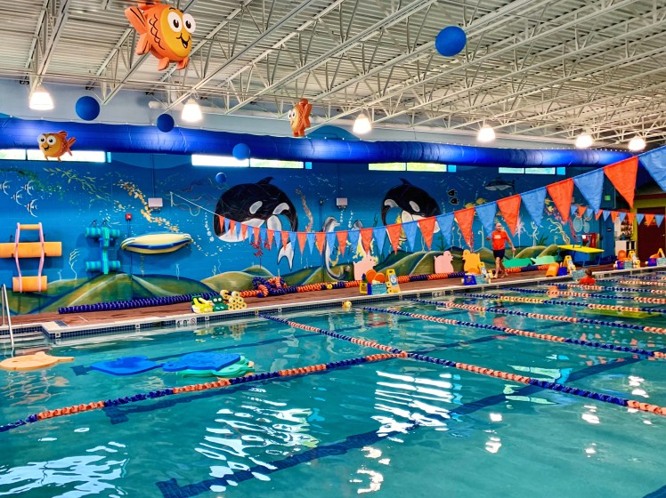 Goldfish Swim School Wexford Mommy and Me classes Pittsburgh Swim Lessons