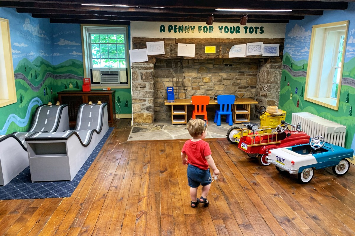 Lincoln Highway Experience Things to do with Kids in Ligonier Pennsylvania Toddling Traveler