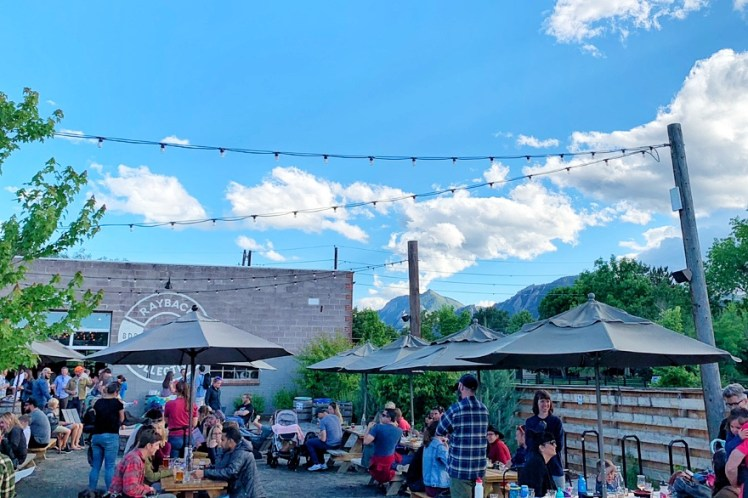 Rayback Collective Breweries in Boulder CO Toddling Traveler
