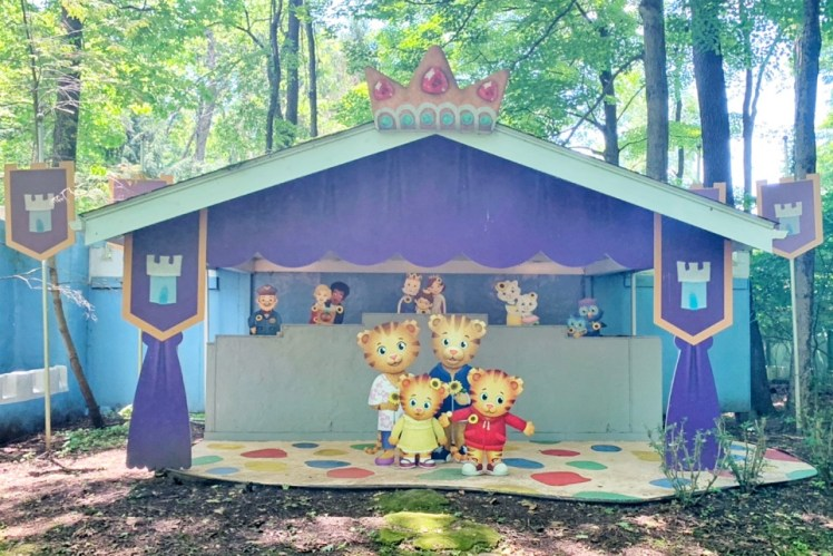 Daniel Tiger Idlewild with a Toddler Ligonier with Kids