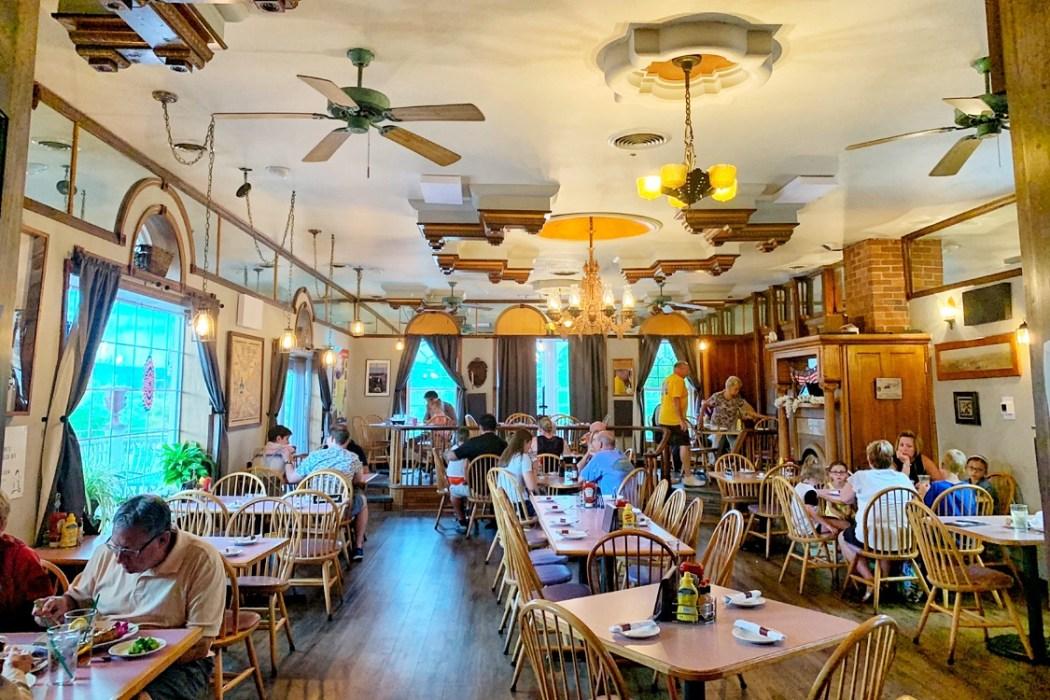 Carol and Dave's Roadhouse Ligonier, PA Restaurants Toddling Traveler