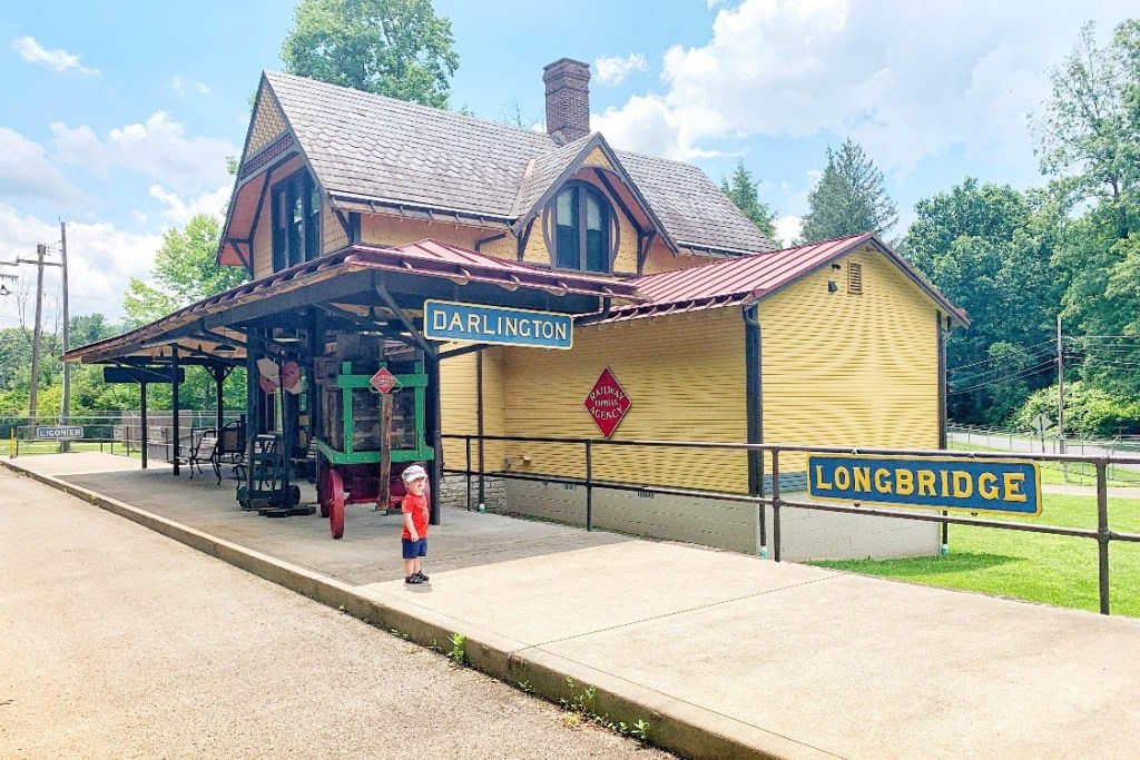 Ligonier Valley Rail Road Museum Ligonier with Kids