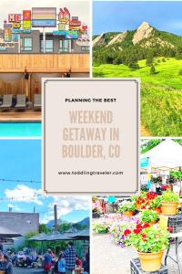 weekend getaway in boulder colorado