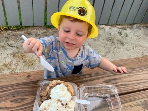Build Your Own Cookie Ice Cream in West Ocean City MD Toddling Traveler