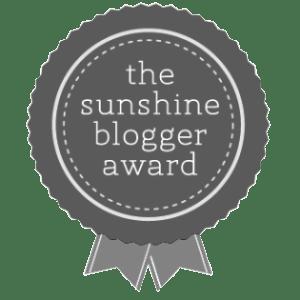 Sunshine Blogger Award Nomination Image Toddling Traveler