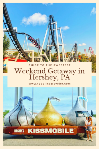 Pinterest Pin Weekend Getaway in Hershey with Kids