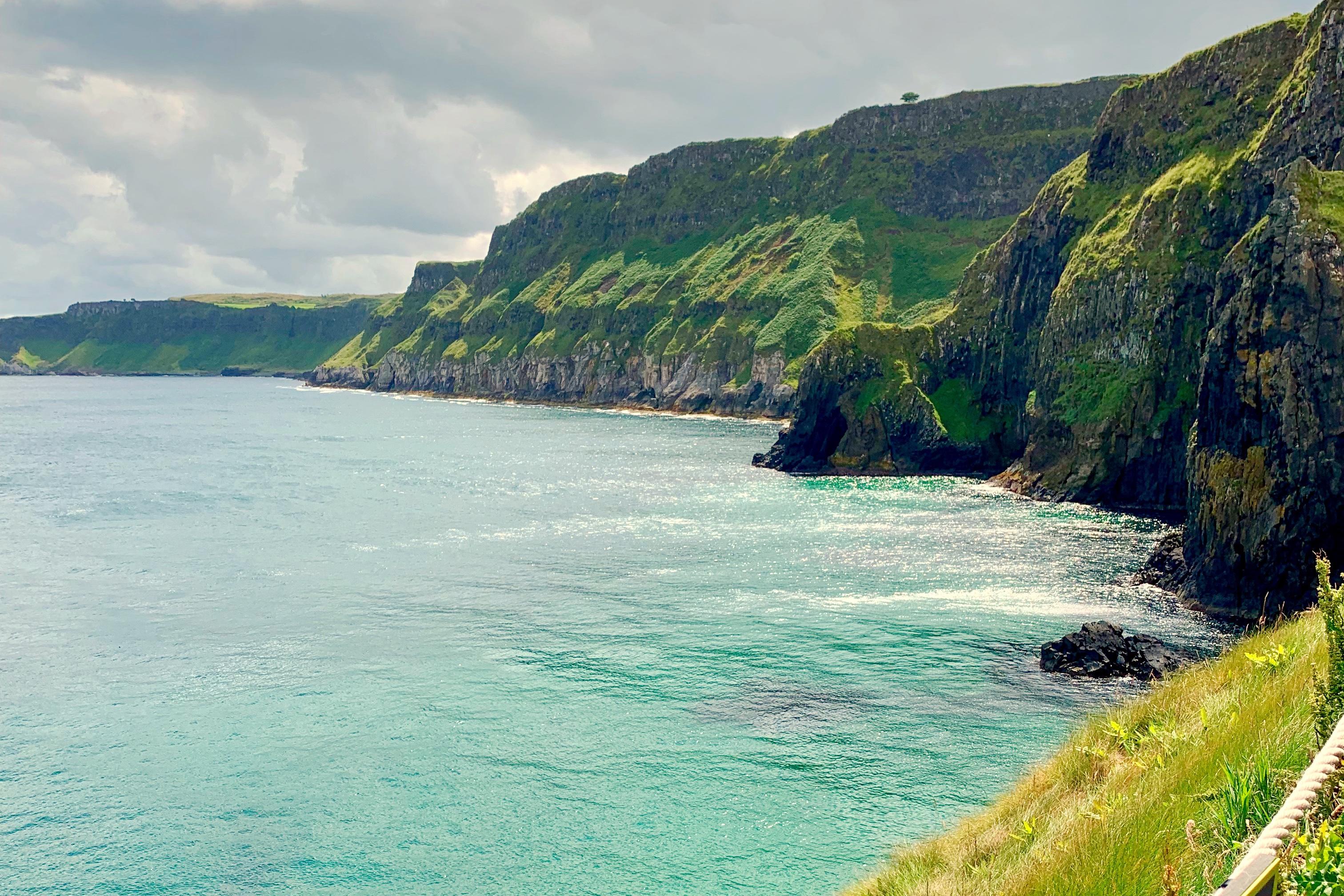 Carrick-a-Rede Coast Northern Ireland Roadtrip Toddling Traveler