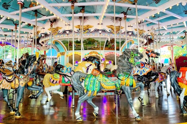 Carousel Rides for Toddlers at Hersheypark Weekend Trip Toddling Traveler