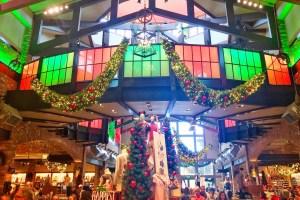 Christmas Decorations in Disney Springs Toddling Traveler