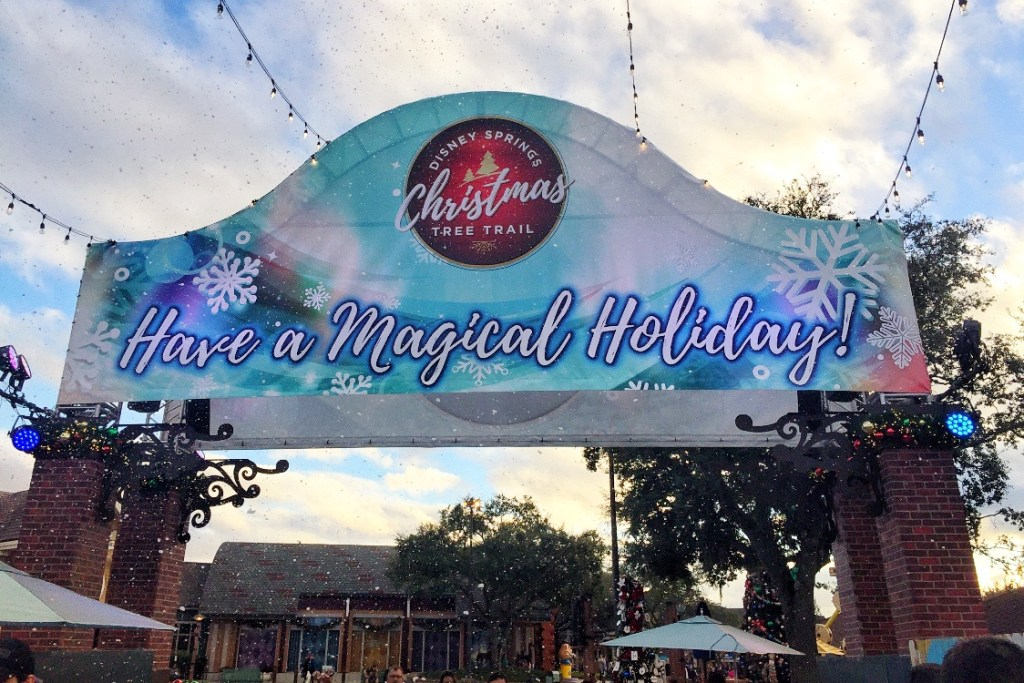 Disney Springs in Orlando at Christmas Toddling Traveler