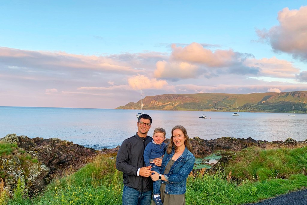 Cushendall Beach Antrim County Waterfront Walk Northern Ireland Roadtrip Toddling Traveler