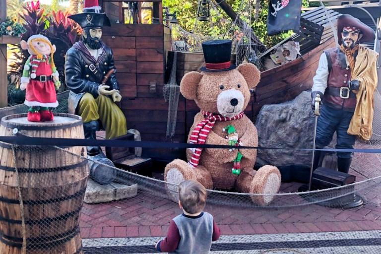 Icon Park Orlando at Christmas Toddling Traveler