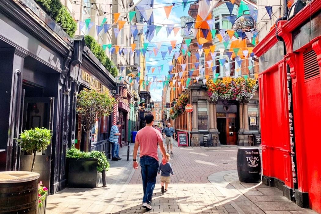 Temple Bar 48 Hours in Dublin Toddling Traveler