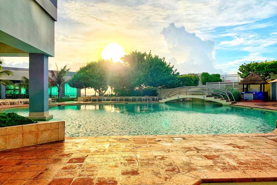Main Pool at Park Royal Family Friendly Resort in Cancun Toddling Traveler