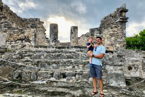 Mayan ruins Park Royal Golden all inclusive in Cancun Mexico Travel Tips Toddling Traveler