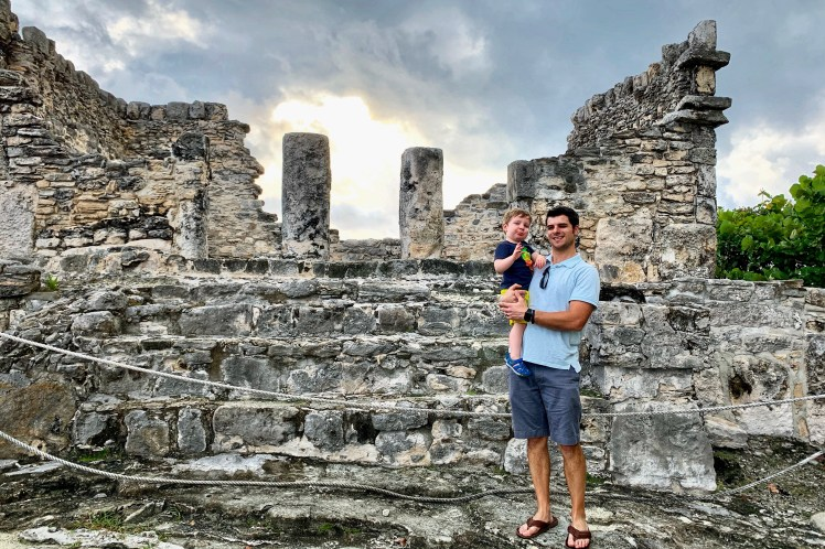 Mayan ruins at Park Royal Golden kid friendly all inclusive in Cancun