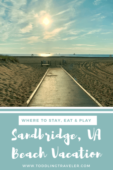 Sandbridge VA Beach Pinterest Toddling Traveler