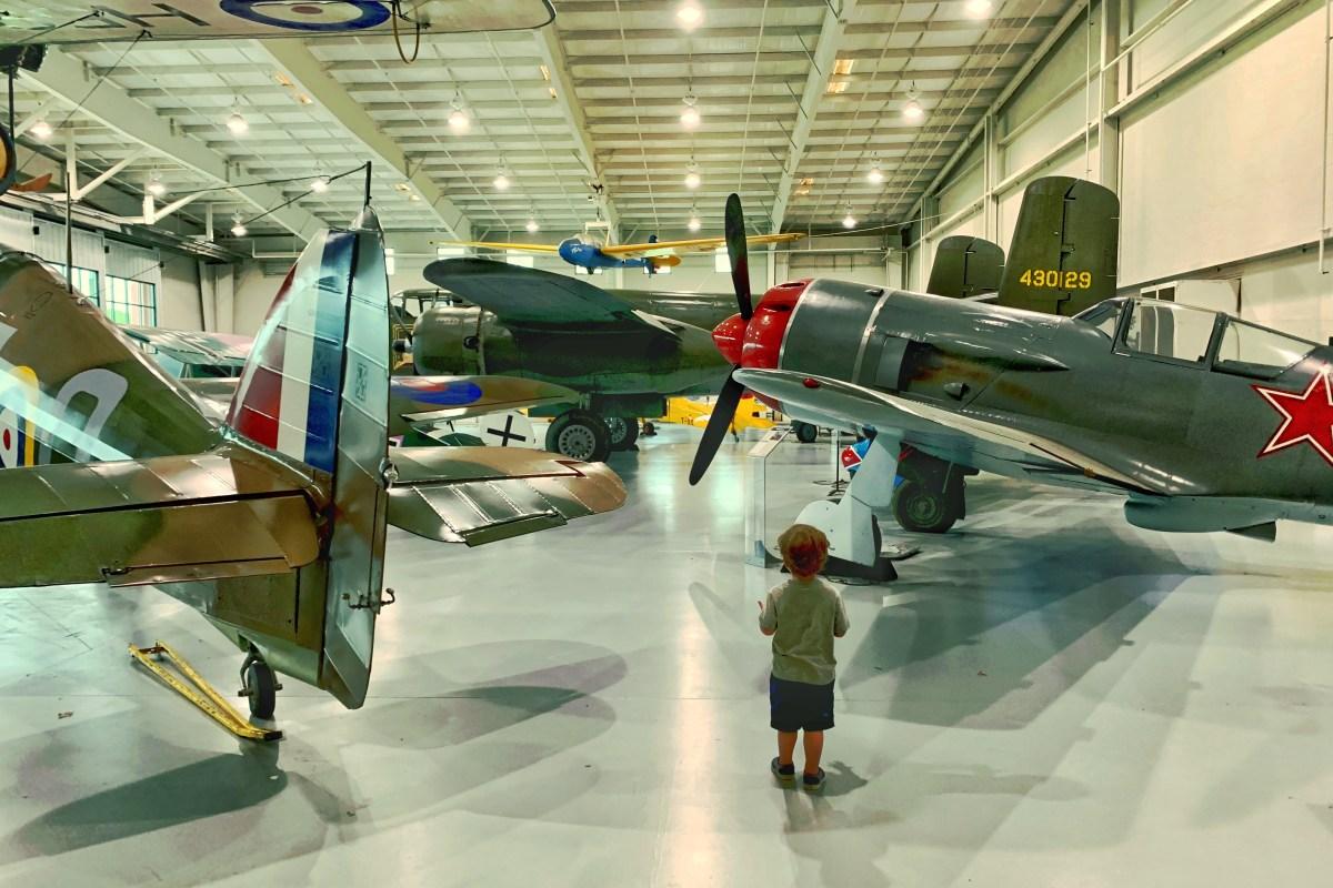 Things to do in Virginia Beach Military Aviation Museum Toddling Traveler