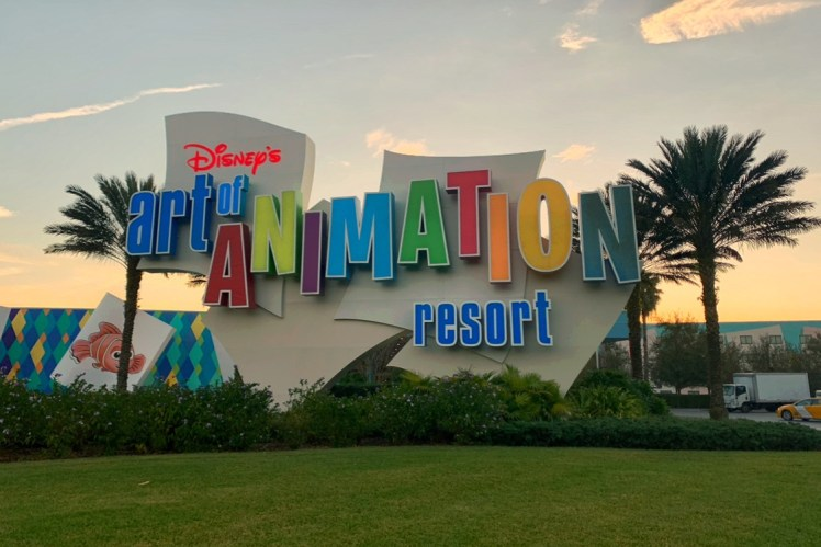 Disney Art of Animation Resort Toddling Traveler