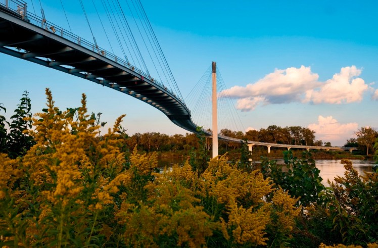 Bob Kerry Bridge in Omaha Kid Friendly Things to Do in Omaha, NE Toddling Traveler