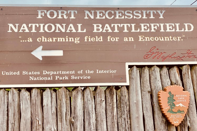 Fort Necessity National Battlefield Things to Do Near Frank Lloyd Wright Houses in PA Toddling Traveler