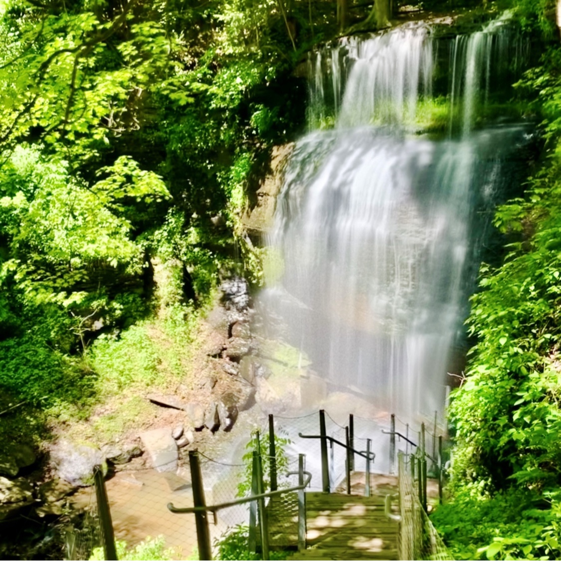 Weekend Trips from Pittsburgh Buttermilk Falls Indiana PA Toddling Traveler