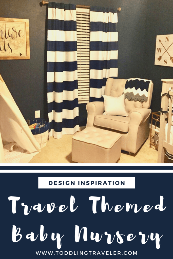 Travel Themed Baby Nursery Toddling Traveler