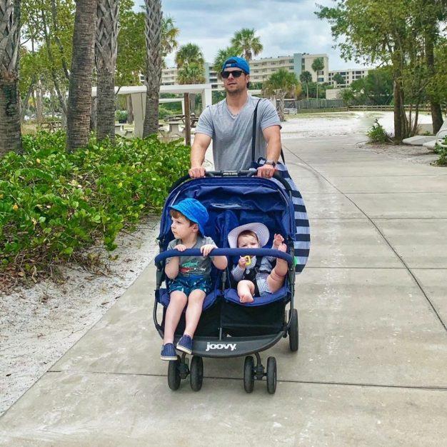 Babyquip stroller rental Sarasota FL Toddling Traveler