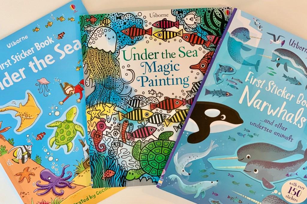 Ocean Sticker Books for Toddlers Toddling Traveler