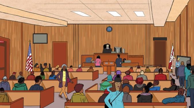 Landlord tenant court