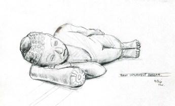 ©Todd Wheeler, buddha sketch