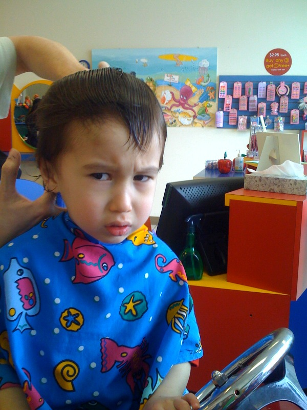 Greyson Haircut