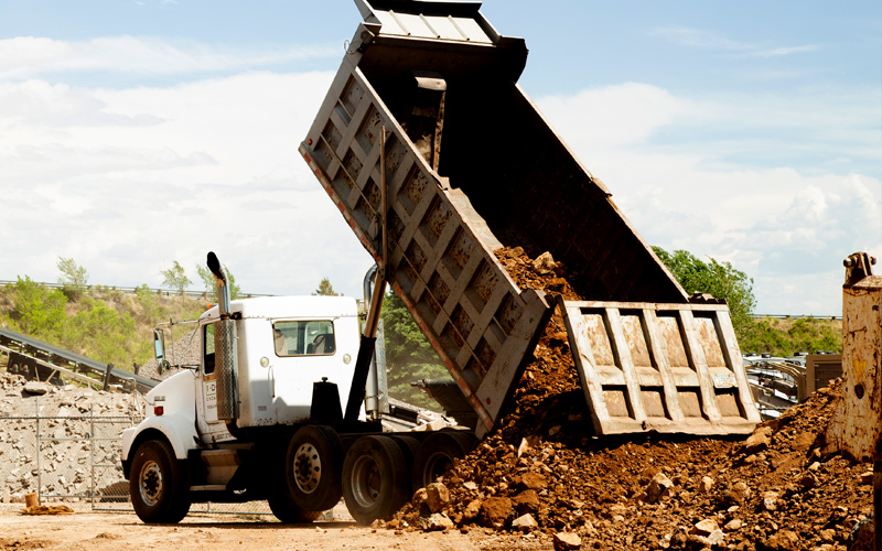 Todd's Excavating Super 16 Dump Truck