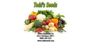 Todd's Seeds Packet - Front