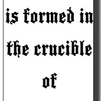 The Crucible, heating (1 of 7)