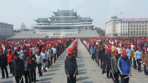 Formation on the square