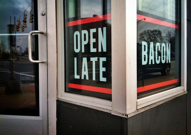 Bacon, Open Late