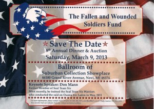 Fallen & Wounded Soldiers Fund Dinner and Auction