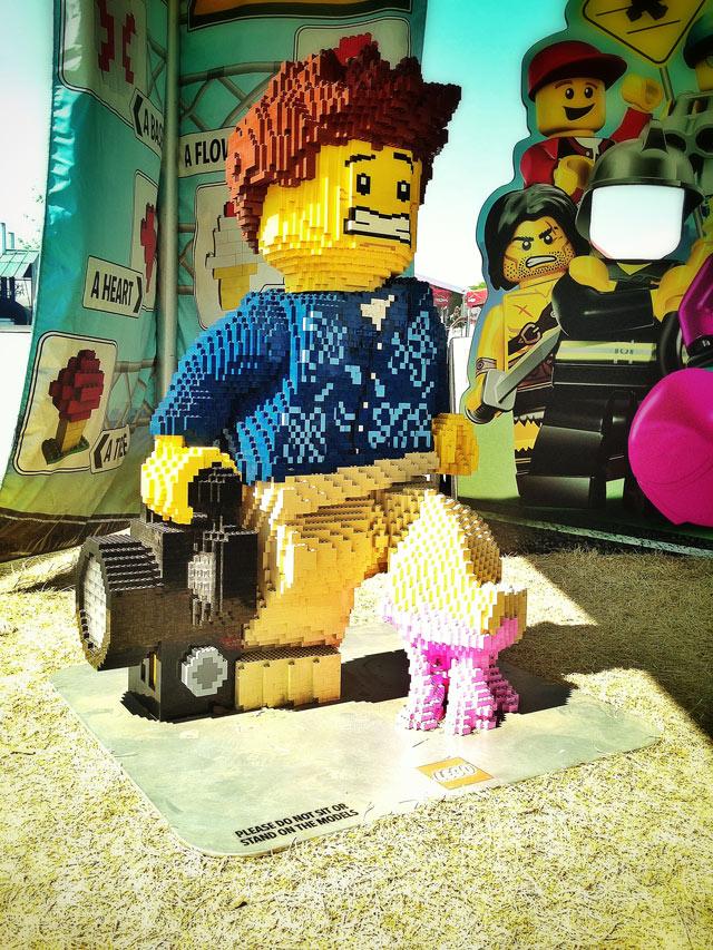 LEGO Selfie. Nearly