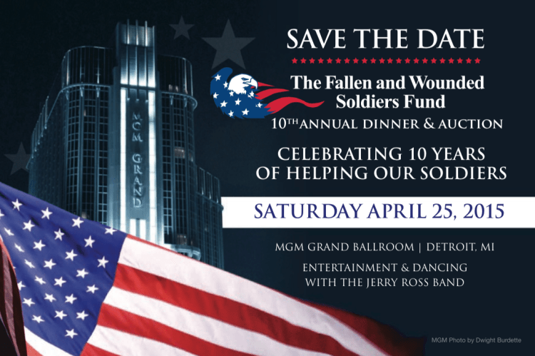 10th Annual Fallen & Wounded Soldiers Fund Dinner