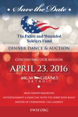 2016 Fallen & Wounded Soldiers Fund Dinner Dance