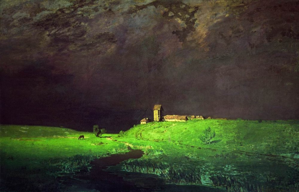 Arkhip Kuindzhi - After the rain, oil on canvas (1879)