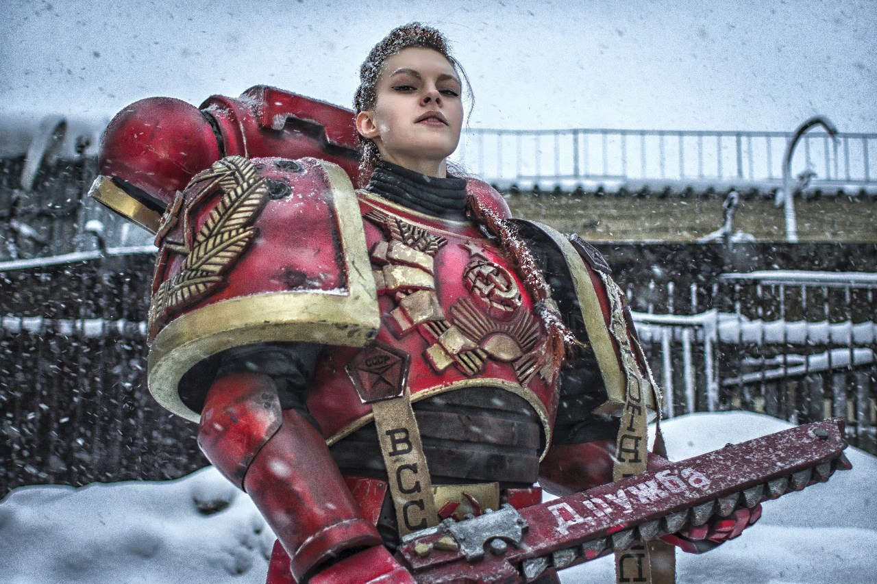 Warhammer 40000 Cosplay. The Soviet version