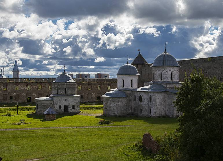 The Cathedral of the Dormition of the Mother of God and the Church of St. Nicholas the Wondermaker