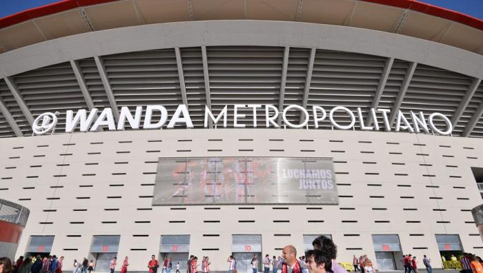 La UEFA prohibe el nombre de Wanda y le cambia el nombre al campo 1