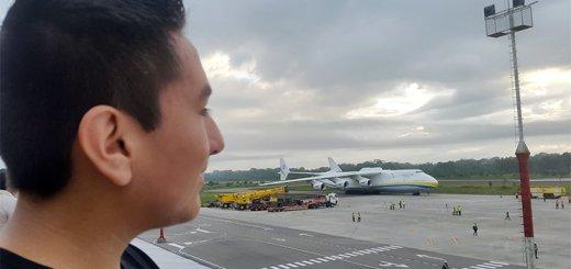 Gabriel se encontró con el Antonov