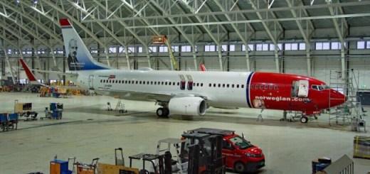 Norwegian avion para argentina