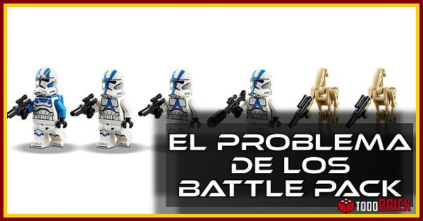 El problema de los LEGO Battle packs