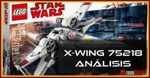 Análisis del set LEGO 75218 X Wing