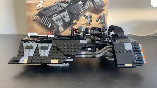 LEGO 75284 Transporte de los caballeros de Ren terminado